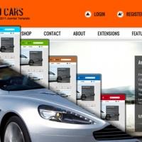 SmartAddons Joomla Template: SJ Cars - Technology Joomla template supporting K2