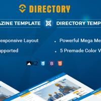 SmartAddons Joomla Template: SJ Directory Free Version - Free Multipurpose Joomla Template