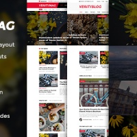 SmartAddons Joomla Template: SJ VerityMag - Free News/Magazine Joomla Template