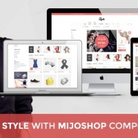 SmartAddons Joomla Template: SJ Style - Awesome Joomla template for MijoShop component