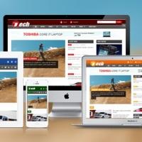 SmartAddons Joomla Template: SJ Tech - Responsive template for news portals