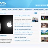 SmartAddons Joomla Template: Smart News - Free news portal Joomla template