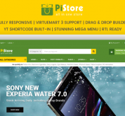 SmartAddons Joomla Template: Sj PiStore