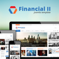 Joomla Premium Template - SJ Financial II - Responsive Business Joomla Template