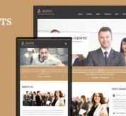 Joomla Premium Template - Sj Suits