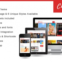 Wordpress Premium Theme - SW Chamy - Responsive WordPress Theme