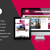 SmartAddons Wordpress Theme: SW Go - Responsive WordPress Theme