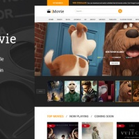 Joomla Premium Template - Sj iMovie