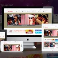 SmartAddons Joomla Template: SJ Vinda - Free Joomla! Entertainment Template for K2 Component