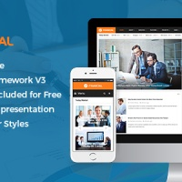 SmartAddons Joomla Template: SJ Financial III - Responsive Business & Financial Joomla Template