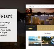 SmartAddons Joomla Template: Sj Resort II