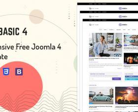 SmartAddons Joomla Template: Sj Basic4
