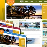 SmartAddons Joomla Template: SJ Travel II - Joomla travel template with Kunena supported