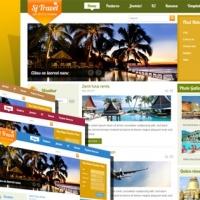 SmartAddons Joomla Template: SJ Travel II - Joomla travel template with Kunena supported