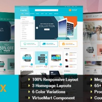 SmartAddons Joomla Template: SJ Matrix - Professional eCommerce Joomla Template