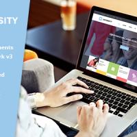 SmartAddons Joomla Template: SJ University II - Professional Education Joomla Theme