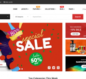 OpenCart Themes: So Tela