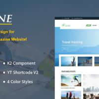 SmartAddons Joomla Template: SJ Urline - Premium Joomla Travel Template
