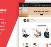 OpenCart Themes: So TShop