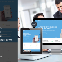 SmartAddons Joomla Template: SJ Kay - Awesome Responsive Joomla Theme for Business Sites