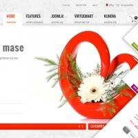 SmartAddons Joomla Template: SJ Flower Store - Professional ecommerce Joomla template