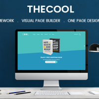 SmartAddons Joomla Template: SJ TheCool - Responsive One Page Book Store Joomla Template