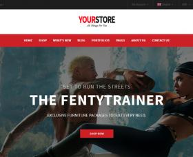 Wordpress Themes: YourStore Free