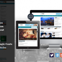 SmartAddons Joomla Template: SJ Time - Creative Responsive Joomla Theme for Magazine Sites