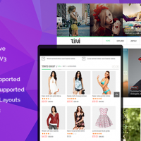 SmartAddons Joomla Template: SJ Tini - Awesome Responsive Multi-purpose Joomla Template
