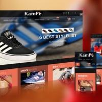 SmartAddons Joomla Template: SJ Kampe - eCommerce responsive Joomla Template with HikaShop