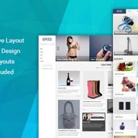 SmartAddons Joomla Template: SJ Grid - Responsive Multipurpose Joomla Template