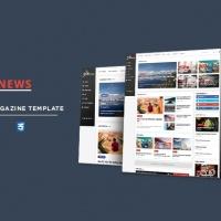 SmartAddons Joomla Template: Sj ExpNews