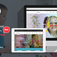 SmartAddons Joomla Template: SJ Preschool - Multipurpose Kid Education Joomla Template