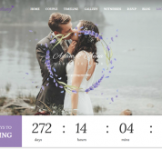 SmartAddons Joomla Template: Sj Wedding