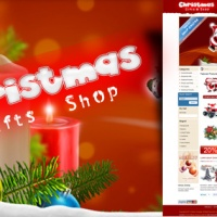 SmartAddons Joomla Template: SJ Merry Christmas - Ecommerce Joomla shop template with VirtueMart