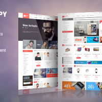Joomla Premium Template - SJ ShoppyStore - Multipurpose VirtueMart 3 Template