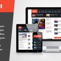 Joomla Free Template - SJ News II - Best Free Resposive News Joomla Template