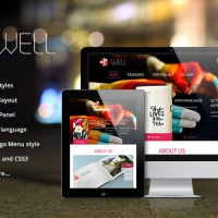 Wordpress Premium Theme - SW Well - Responsive WordPress Theme