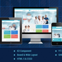 Joomla Free Template - SJ Healthcare - Awesome Healthcare/Medical Joomla Template
