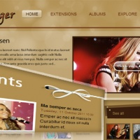 SmartAddons Joomla Template: SJ Singer - Great entertainment Joomla template