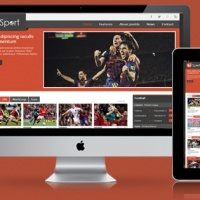 SmartAddons Joomla Template: SJ eSport - Best sports magazine Joomla template