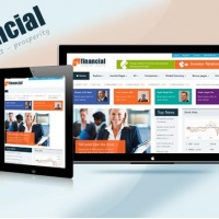 SmartAddons Joomla Template: SJ Financial - Solution for large portals and busy websites