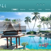 SmartAddons Joomla Template: YT Travel - Joomla travel template with cool effects