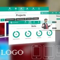 SmartAddons Joomla Template: SJ Onepage - Responsive Joomla Template for Portfolio Website