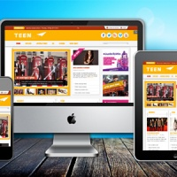 SmartAddons Joomla Template: SJ Teen - A Template for modern sites