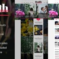 SmartAddons Joomla Template: SJ HealthMag - Responsive News Portal Joomla Template