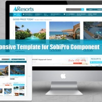 SmartAddons Joomla Template: SJ Resorts - Professional responsive Joomla travel template