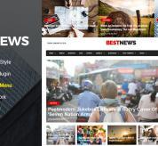 SmartAddons Joomla Template: Sj BestNews