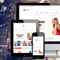 SmartAddons Joomla Template: SJ Papa - Powerful eCommerce Joomla Template