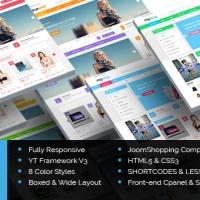 SmartAddons Joomla Template: SJ G2Shop - Multipurpose JoomShopping Joomla Template